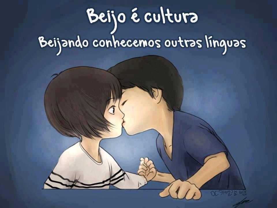 Beijo é cultura, a beijar conhecemos outras línguas